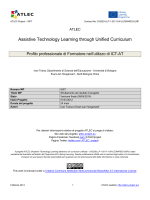 Assistive Technology Learning through Unified Curriculum