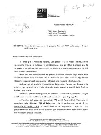 Delegazione FAI di Ascoli Piceno