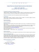 corso pratico di scienze ginecologiche ed ostetriche