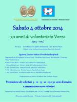 Diapositiva 1 - Associazione Pro ammalati Francesco Vozza Onlus