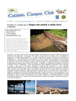 "Download programma (pdf) - Calabria Camper Club ""Sila"""