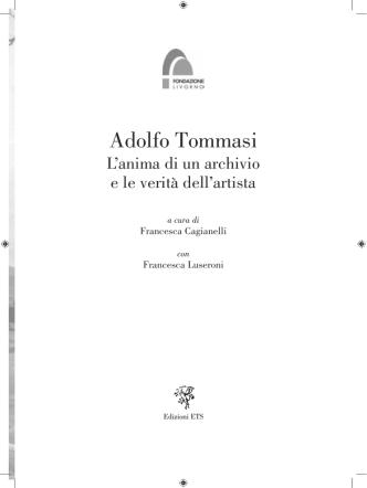 Adolfo Tommasi - Edizioni ETS