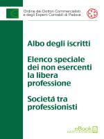 Albo aggiornato al 31.3.2014 - Ordine dei Dottori Commercialisti e