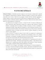 PATTO DEI SINDACI - Comune di Orbassano