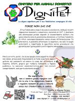 VOLANTINO STAMPABILE in pdf - cimitero per animali DigniPet