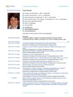 Europass CV - Master IUSVE in Criminologia