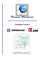 Catalogo Tecnico - Planet Windows