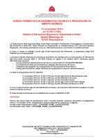 programma per AL e AT def - Ordine Architetti di Alessandria