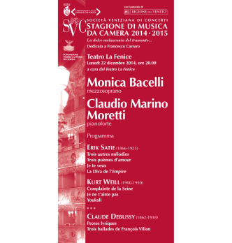 Depliant - Società Veneziana di Concerti