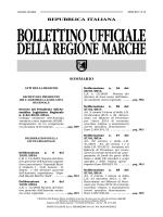 Bando di Concorso - Regione Marche