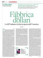 Carlo Bonini, la Repubblica 23/3/14