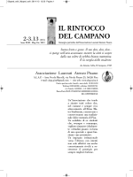 IL RINTOCCO DEL CAMPANO