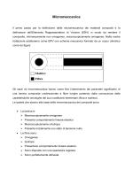 Dispense Micro e macromeccanica