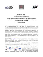 LE FRANCESI EBOO SOLUTIONS ED ESI GROUP TRA GLI