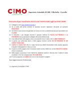Istruzioni per usufruire dei Corsi FAD forniti agli iscritti CIMO La