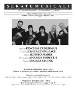 Violinista PINCHAS ZUKERMAN Violinista