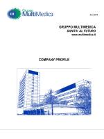 Company Profile 2014 - Gruppo MultiMedica