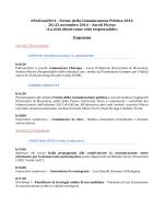 Programma POLCOM2014 - Consorzio Universitario Piceno