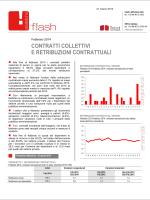 Istat: Contratti collettivi e retribuzioni contrattuali
