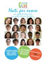 Nati per essere - Fondazione COLOR YOUR LIFE