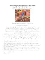 Il programma completo - Consiglio Regionale del Piemonte