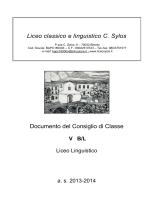 Classe VBL - Liceo Sylos