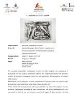 COMUNICATO STAMPA - Atelier Capricorno