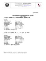 Corso INGLESE B2 FCE Docente Prof. Price