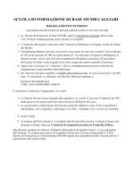 Scarica il regolamento Scuola Cagliari formato pdf
