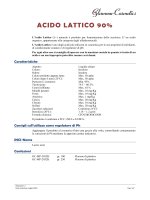 ACIDO LATTICO 90% - Glamour Cosmetics