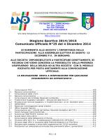 giudice sportivo - Accademia Cologno Calcio