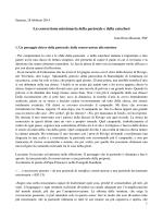 Relazione fratel Enzo Biemmi
