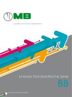 Lineare Standardtische Serie