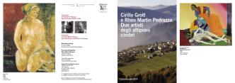 Cirillo Grott e Rheo Martin Pedrazza. Due artisti degli altipiani cimbri