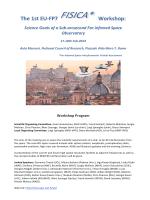 program in pdf - First Fisica Workshop