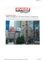 Allianz Giappone fra innovazione e tradizione