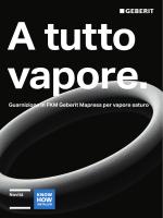 Guarnizione in FKM Geberit Mapress per vapore saturo