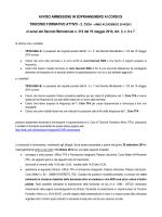 avviso ammissione in soprannumero - Università degli Studi di Trento