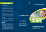 SUMMER CAMPS - Sport Village Catona