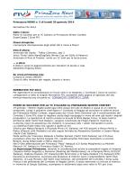 Primazona NEWS n. 5 di lunedì 20 gennaio 2014 Normative FIV