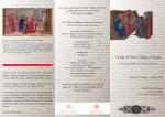 I Codici del Reale Collegio di Spagna