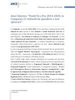 """Ance Salerno: """"Fondi Ue e Fsc 2014-2020, in Campania 21"""