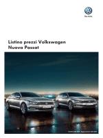 Listino prezzi Volkswagen Nuova Passat