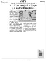 No alla foresteria dï lusso - Università degli Studi di Pisa