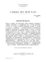 Atti Parlamentari - Camera dei Deputati