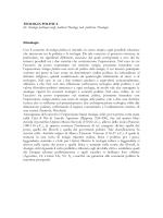 TEOLOGIA POLITICA (Sisto)