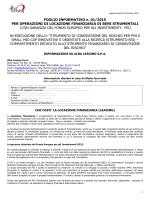 FOGLIO INFORMATIVO n. 04/2014 PER