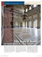 Villa Reale di Monza. Un nuovo approccio ai
