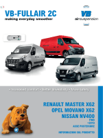 VB-FullAir 2C Renault Master X62 FWD - VB