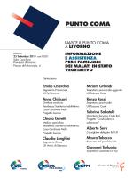 Nasce il Punto Coma a Livorno
